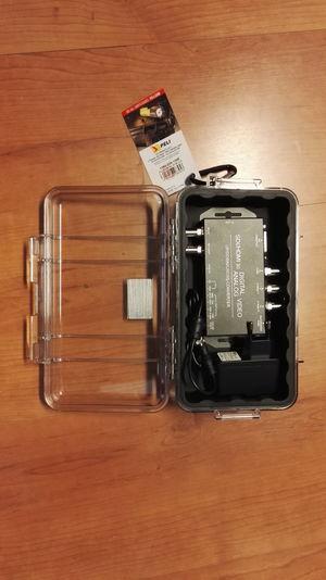 Peli flightbox för JMC-konverter/scaler