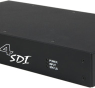 Fx4 Multidisplay unit with SDI output