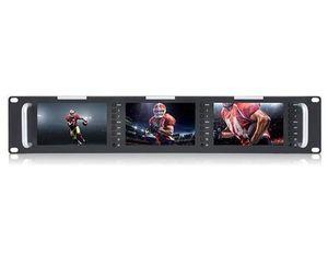 """JMC SEETEC T51 Tripple 5"""" 2RU  IPS 800×480  monitor"""