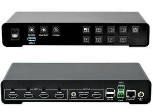 JMC Yuan  4 channel +1 HDMI Streaming encoder