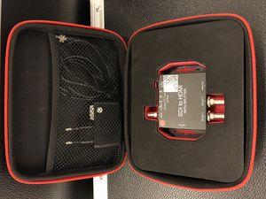 Punainen SDI HDMI kassi