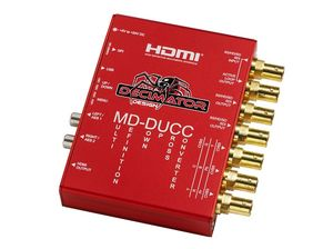 MD-DUCC: Multi-Definition Up Down Cross Converter